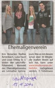 Stadtspiegel 17.11.2013